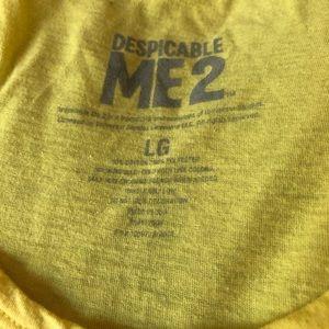 Official Despicable Me Minion Tank Top Size L